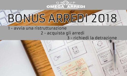 Bonus arredi 2018 omegarredi for Bonus arredi 2017